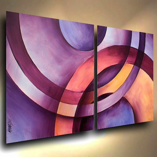 cool modern art original painting modern abstract contemporary decor 2573