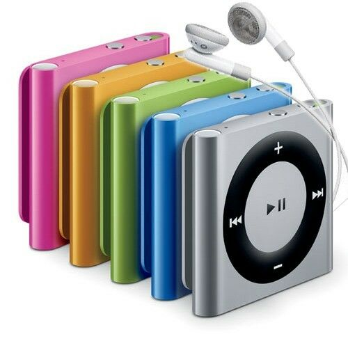 apple ipod shuffle 2gb latest 4th generation mp3 player assorted colors ebay. Black Bedroom Furniture Sets. Home Design Ideas