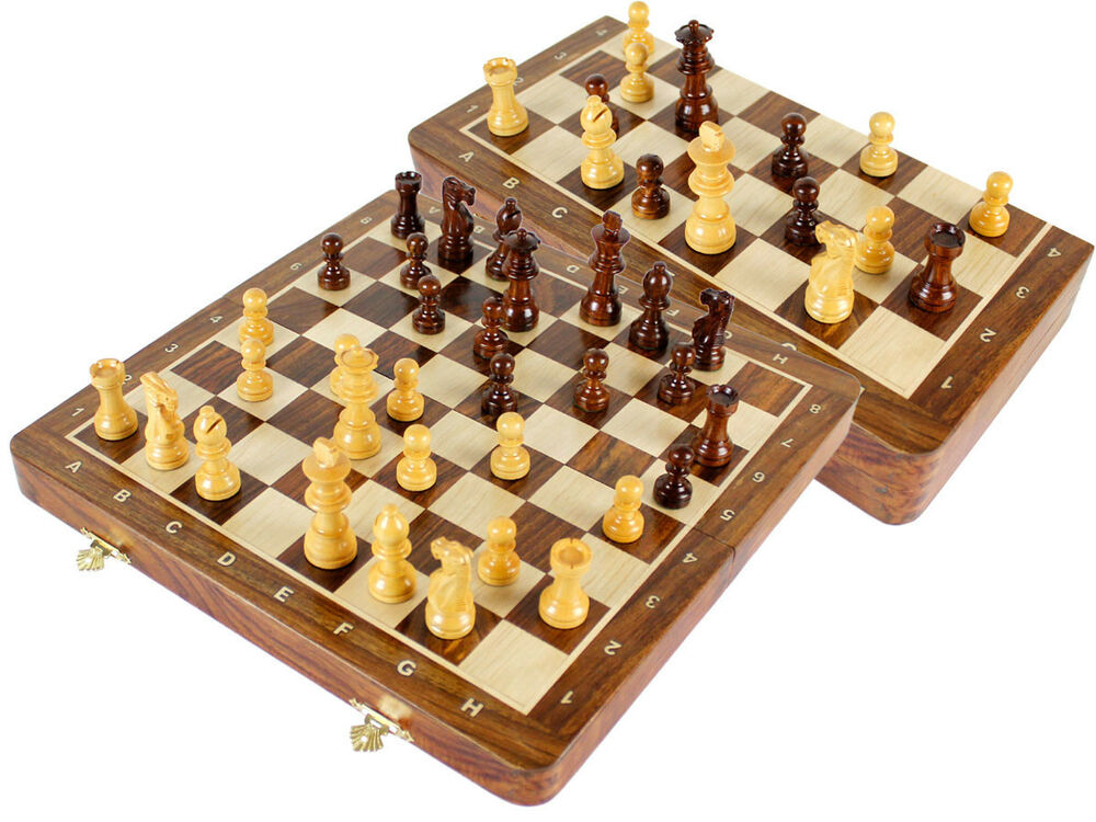 Magnetic Travel Chess Set 12 2 Extra Queens 4 Extra