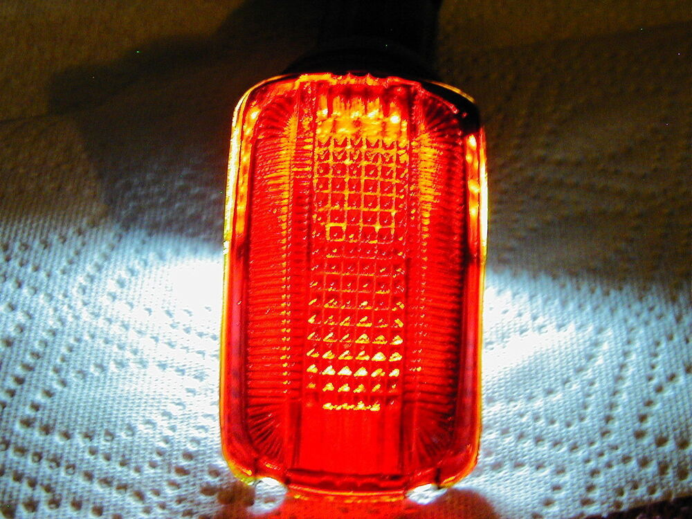 Vintage Tail Light Lens : Tail light lens vintage glass plymouth savoy
