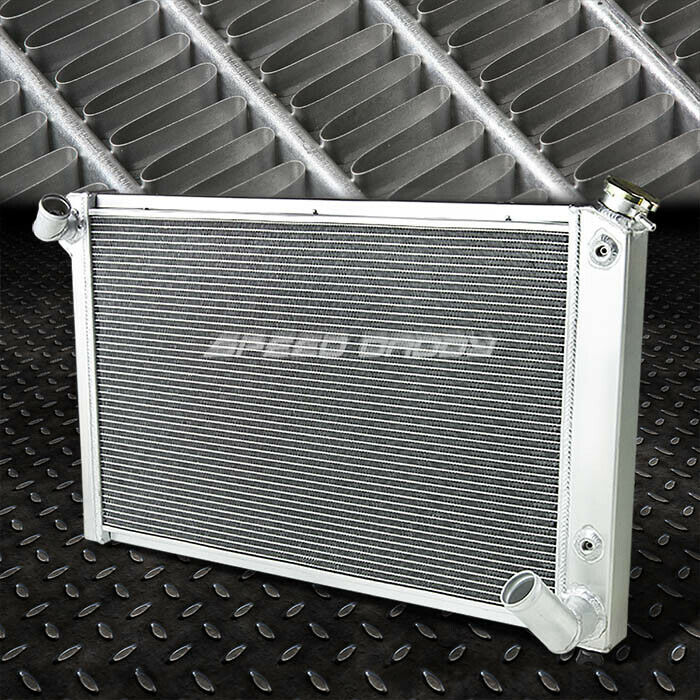 3-ROW ALUMINUM RACING RADIATOR 68-82 CHEVY SMALL BLOCK