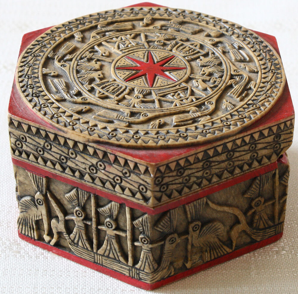 Stone carving decorative box vietnam asian home decor for Unusual decorative accessories