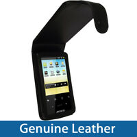 Black Genuine Leather Case Cover for Archos 28 Android Internet Tablet 4gb 8gb