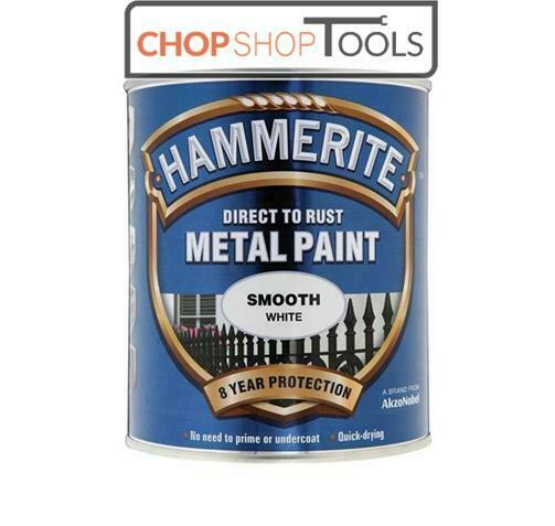 hammerite metal paint direct to rust smooth white 750 ml. Black Bedroom Furniture Sets. Home Design Ideas