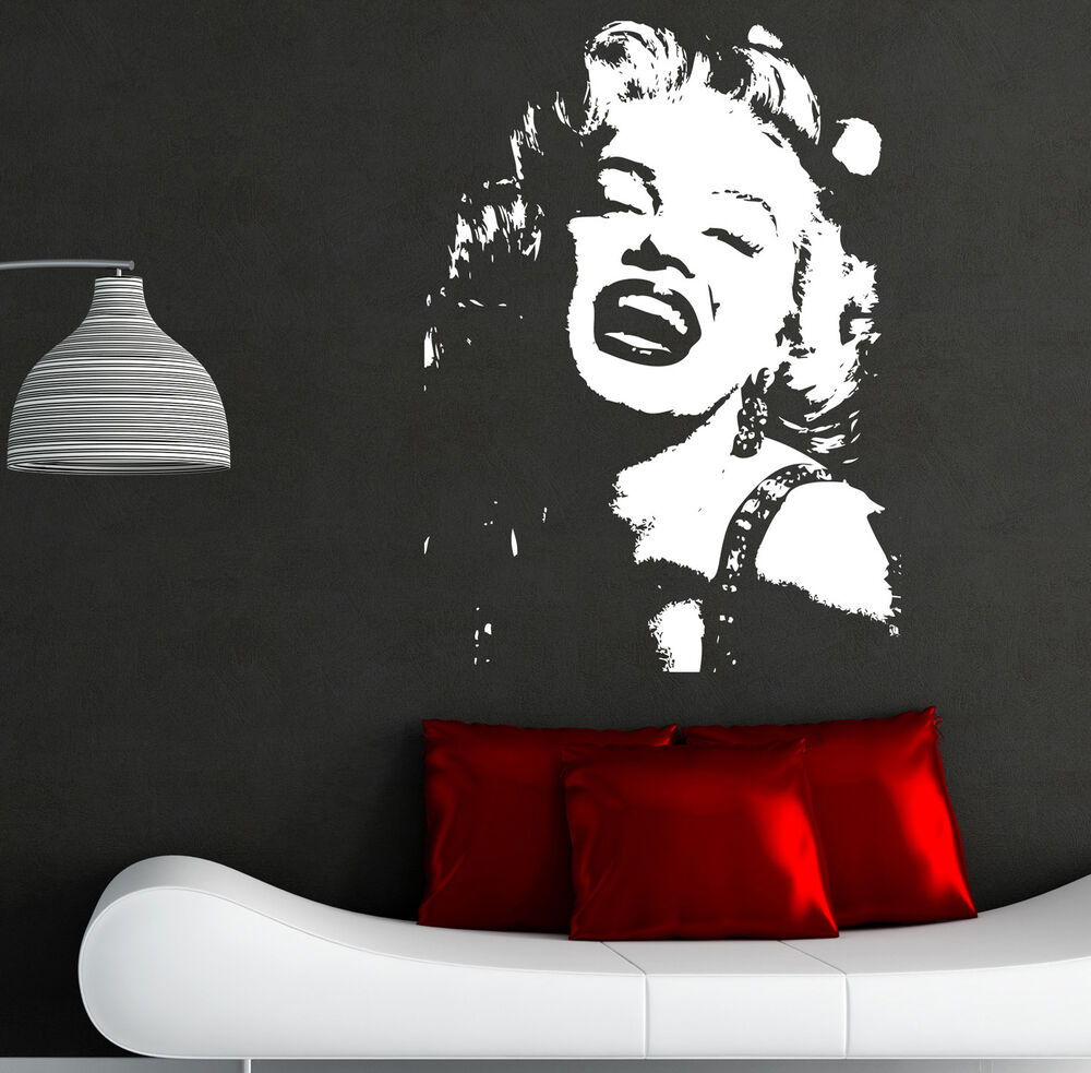 Marilyn Monroe Wall Sticker Art Decals I1 Ebay