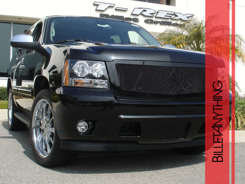 Chevy Tahoe Avalanche Suburban 2007 2013 Black Mesh Grille