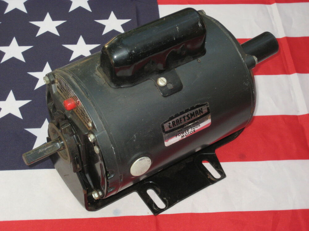 Sears craftsman 3 4 horsepower dual arbor power tool for 1 hp electric motor for table saw