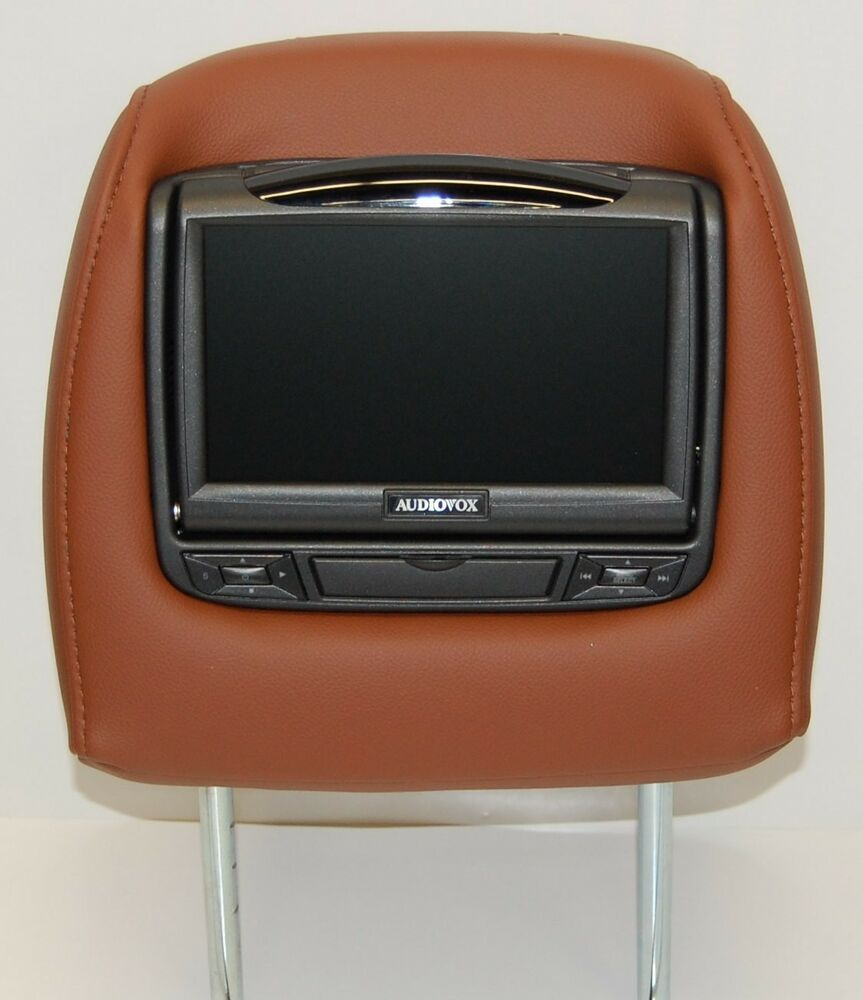 NEW 2013 Acura MDX Dual DVD Headrest Video Players