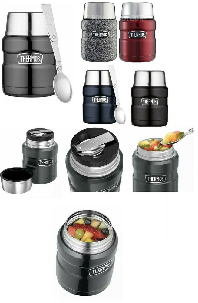 Genuine Thermos Unbeatable Steel Flask Jar For Hot Cold