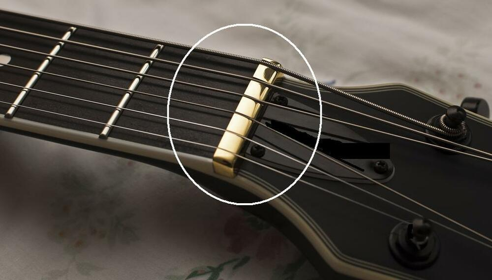axemasters unslotted brass 3 16 nut blank for gibson electric acoustic guitar ebay. Black Bedroom Furniture Sets. Home Design Ideas