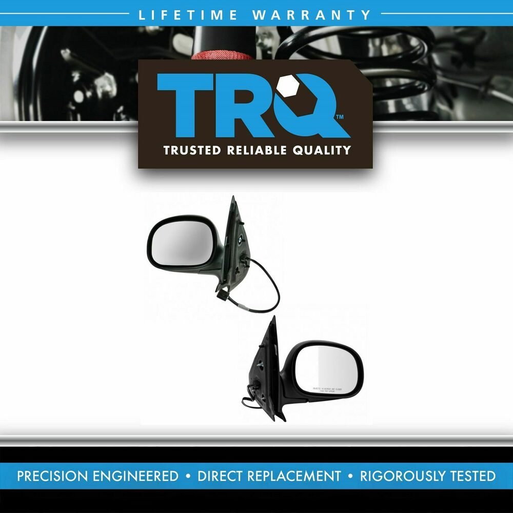 Power heated folding mirror left right pair set for 97 for Power mirror motor repair