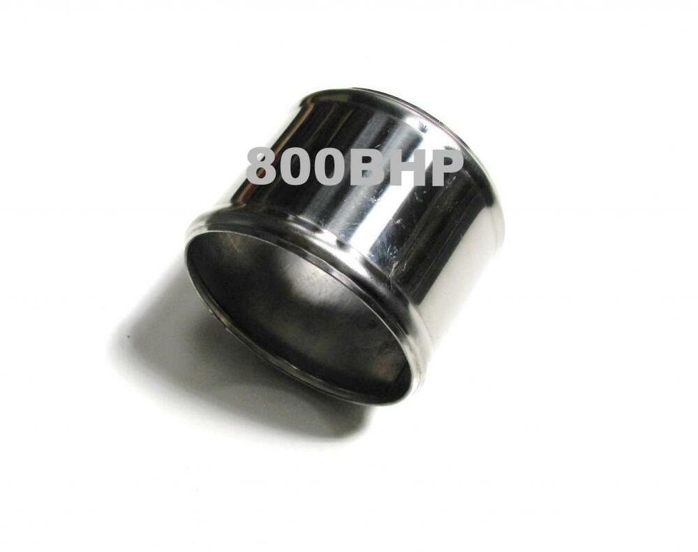 Steel Coupler For Exaust : Stainless steel pipe mm straight joiner inch