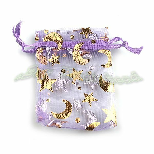 Organza Wedding Favor Bags Wholesale : 250x Wholesale Purple Organza Gift Package Bags Wedding Favor 120398 ...