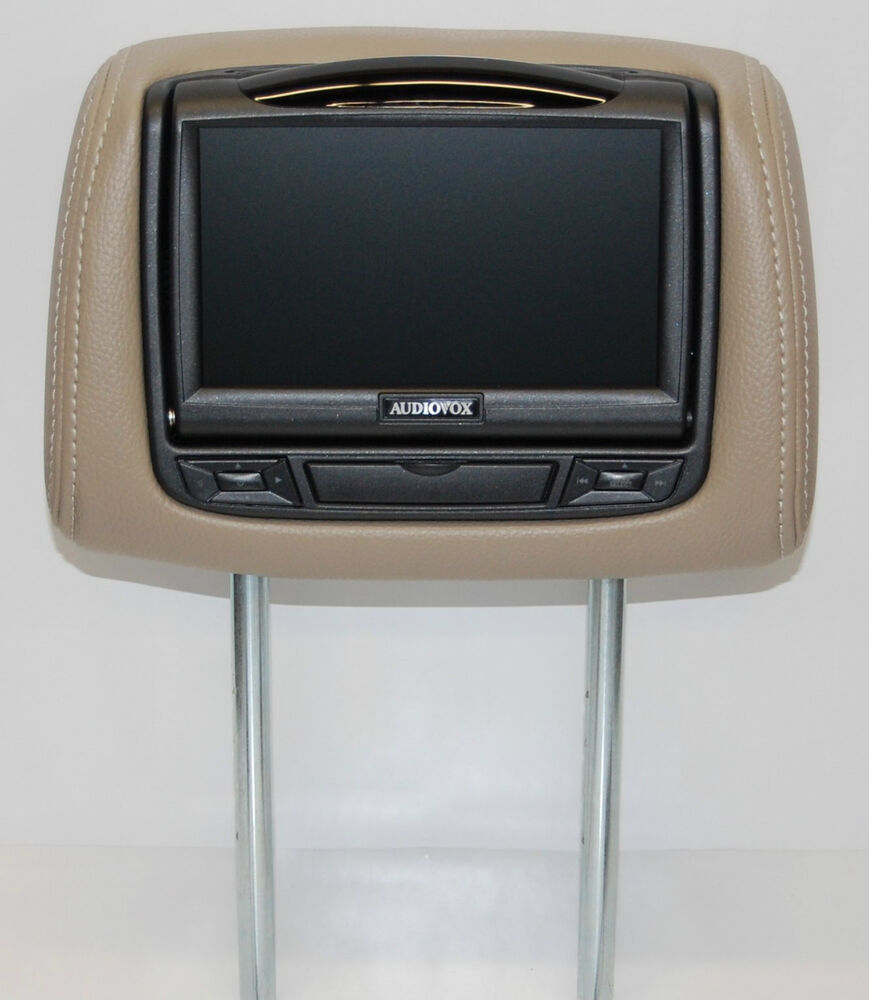 New 2013 Chevy Traverse Dual Dvd Headrest Video Players