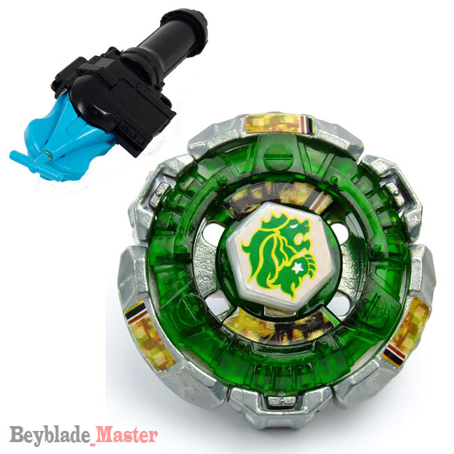 Fusion Metal Beyblade Masters Bb106 Fang Leone Blue String Launcher