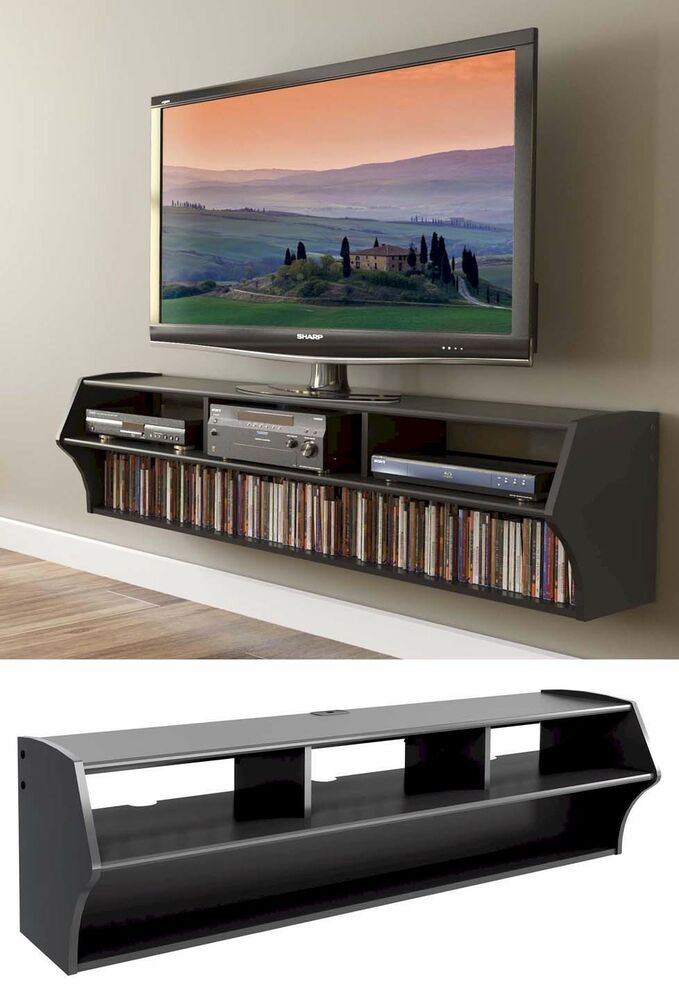 "58"" Altus Floating Wall Mounted Console LCD/LED TV Stand w ..."
