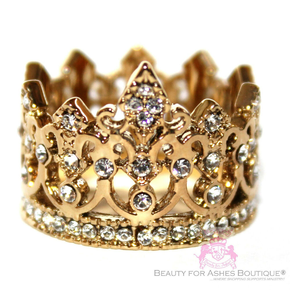 Beauty For Ashes Royalty Highness Crystal Clear Gold