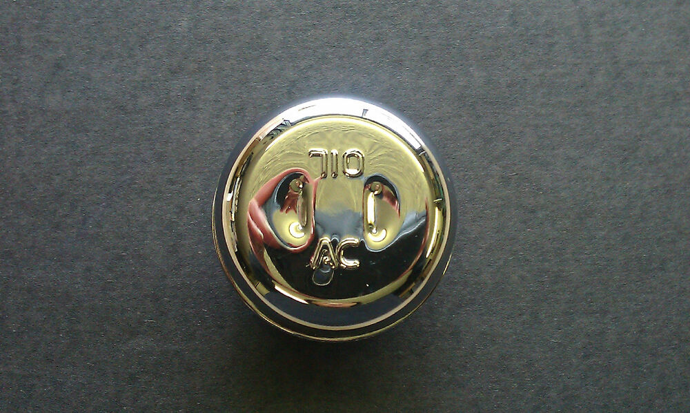 Pontiac Gto Ram Air Chrome A C Oil Fill Breather Cap Ebay