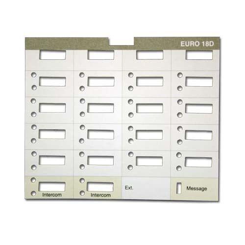 10 att lucent avaya partner 18d eurostyle paper labels 18 With avaya partner 18d label template