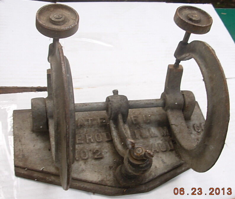 Vintage ferodowill skate saw knife c clamp machinist or