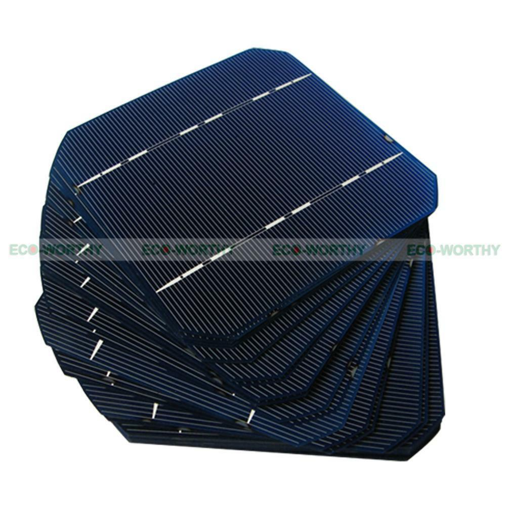 ... Solar Cell Cells 2 6W PC 125x125mm for DIY Solar Panel Battery Charger