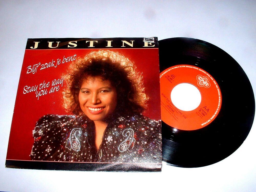 JUSTINE : Blijf zoals je bent Stay the way you are Disco ...
