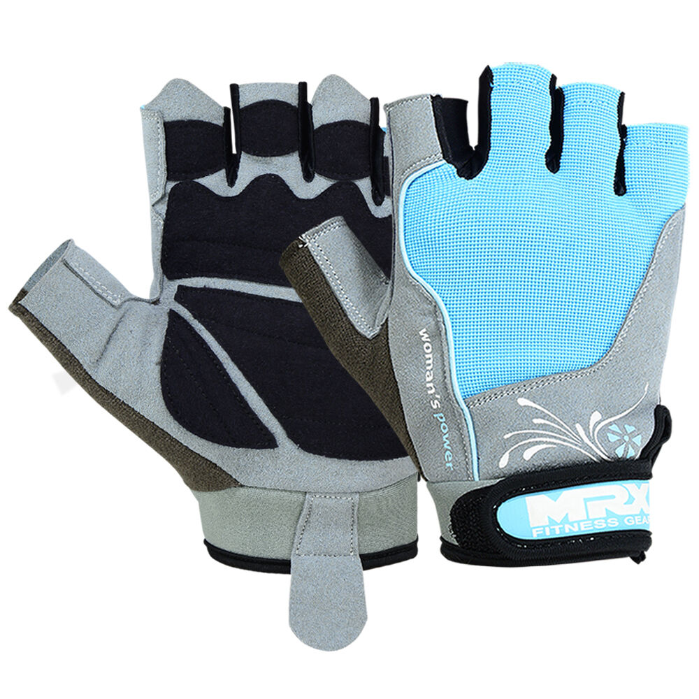 Women Weight Lifting Gloves Gym Fitness Training Mrx: Ladies Weight Lifting Gloves Gym Training Fitness Glove