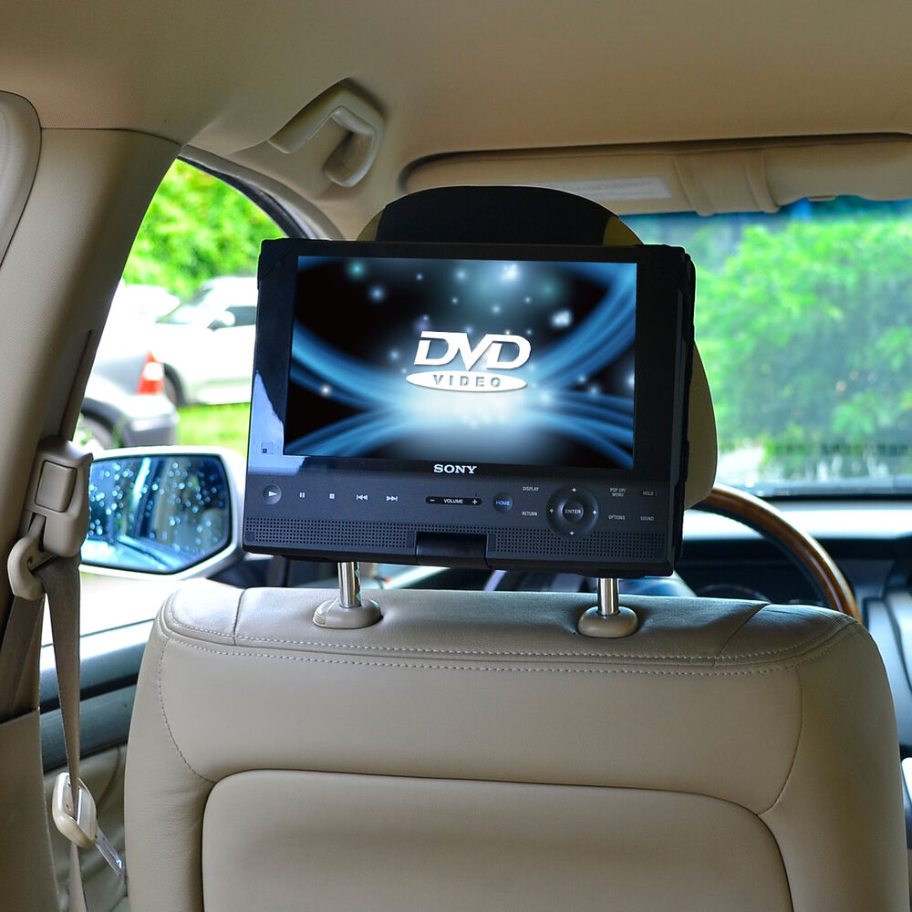 tfy car headrest mount for sony bdpsx910 portable blu ray. Black Bedroom Furniture Sets. Home Design Ideas