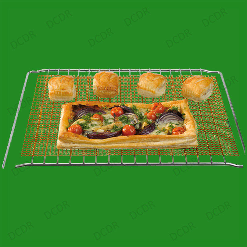 Reusable Non Stick Mesh Oven Tray Sheet Grill Pan