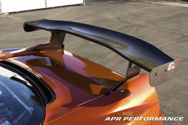 Details About Apr Performance Gtc 500 Carbon Fiber Adjule Rear Wing Spoiler Acura Nsx
