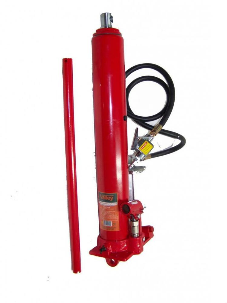 8 Ton Air And Hydraulic Long Ram Bottle Jack Engine Hoist