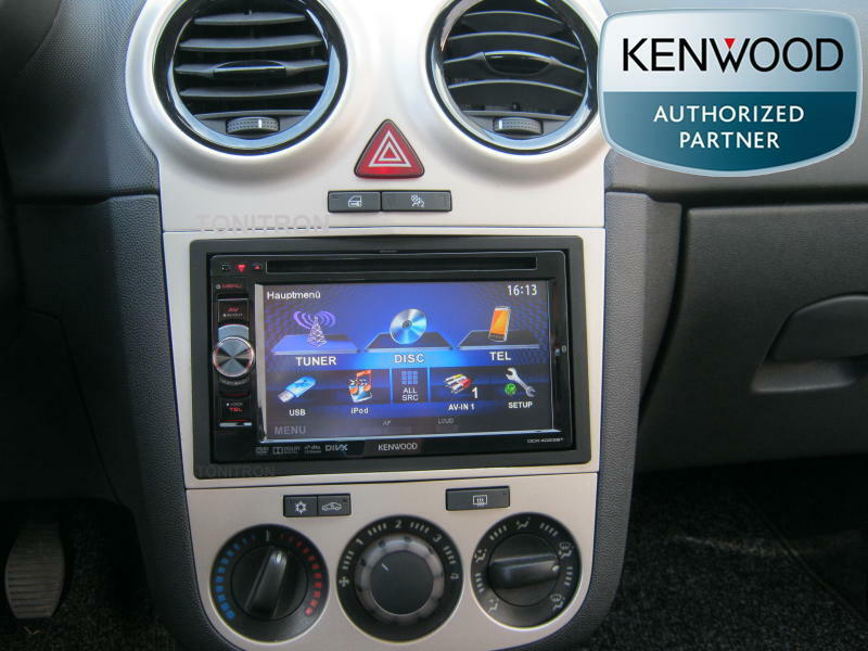 opel corsa d ab 2006 doppel din radio dvd usb aux in mp3 autoradio ebay. Black Bedroom Furniture Sets. Home Design Ideas