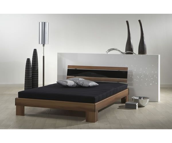 173271 futonbett jugendbett g stebett rhone nussbaum 140 x 200 cm komplett set ebay. Black Bedroom Furniture Sets. Home Design Ideas
