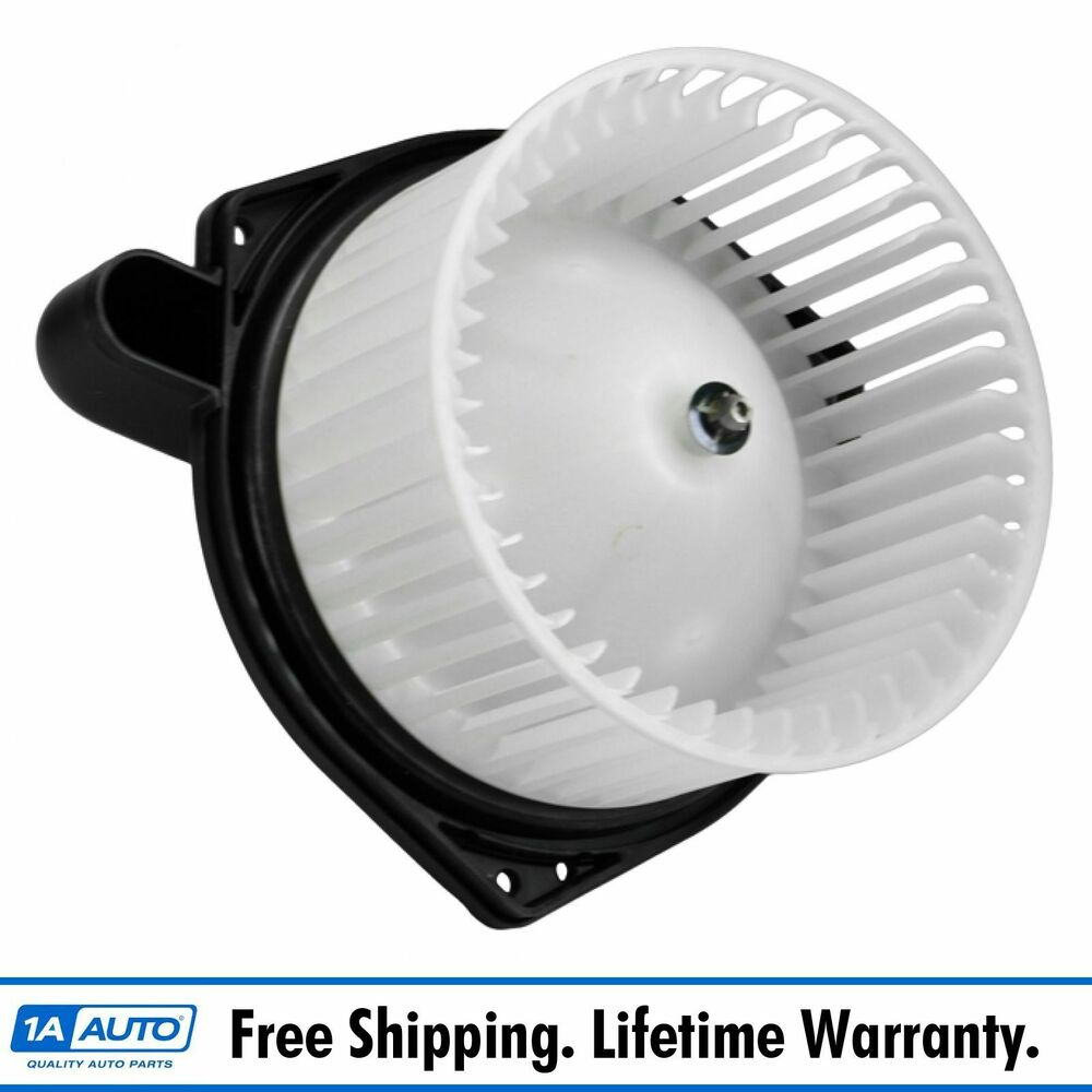 Heater Blower Motor with Fan Cage for Chevy Colorado GMC ...