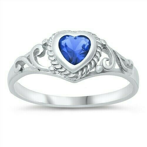 Usa seller heart baby ring sterling silver 925 best price for New top jewelry nyc prices