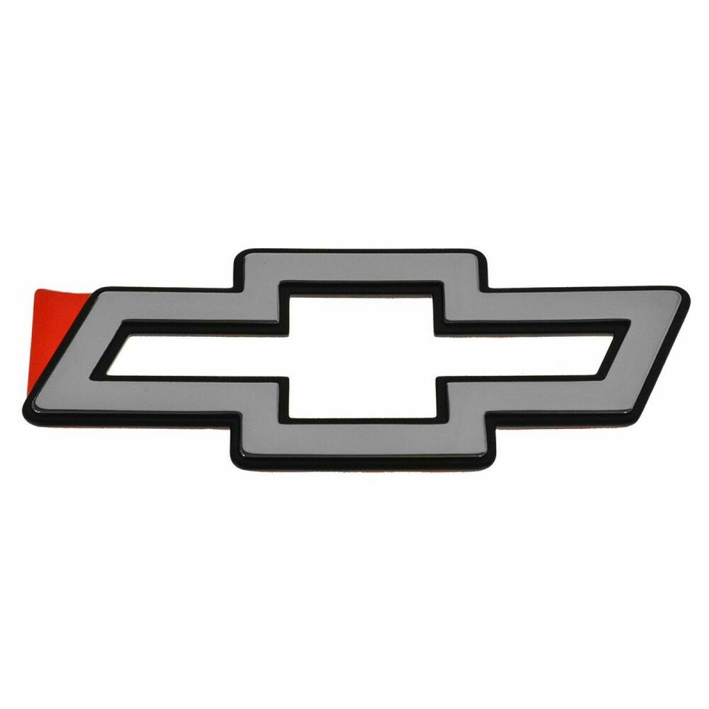 Grille Emblem Chrome Gm Bowtie For Chevy Impala Ss Ebay
