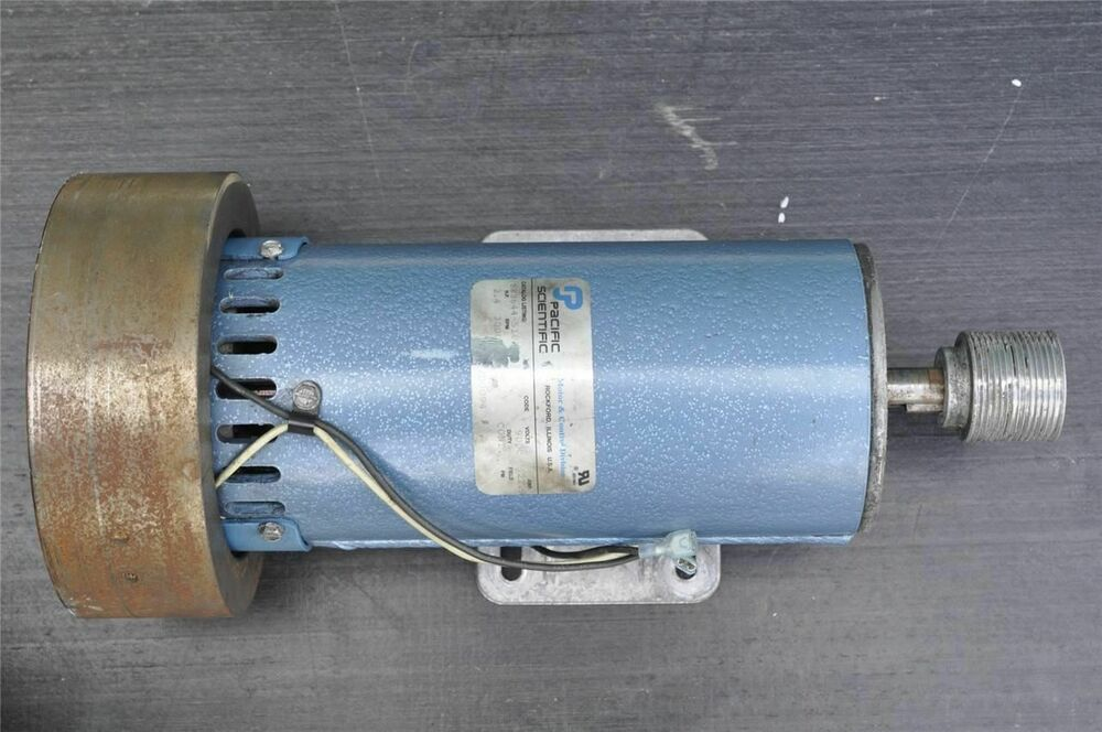 Pacific scientific sr3644 5182 low loss hybrid step motor for Pacific scientific stepper motor