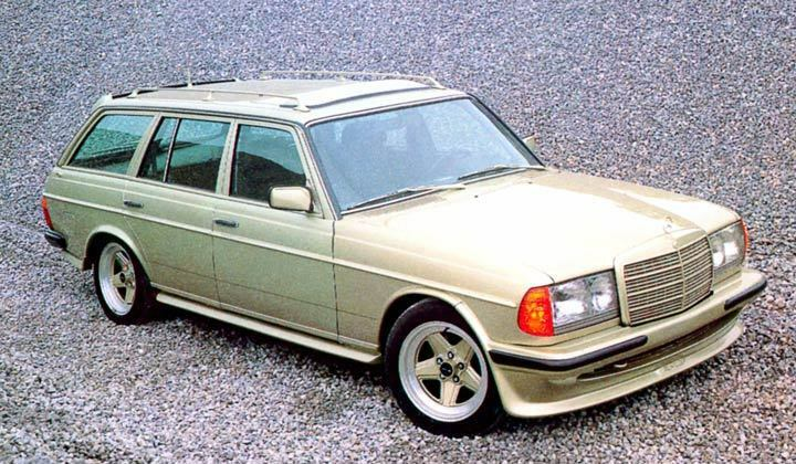 1987 mercedes benz amg 280te w123 wagon factory photo for Mercedes benz factory in alabama