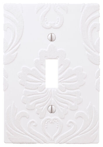Wallplate Switch Plate Amp Outlet Covers Flocked Damask