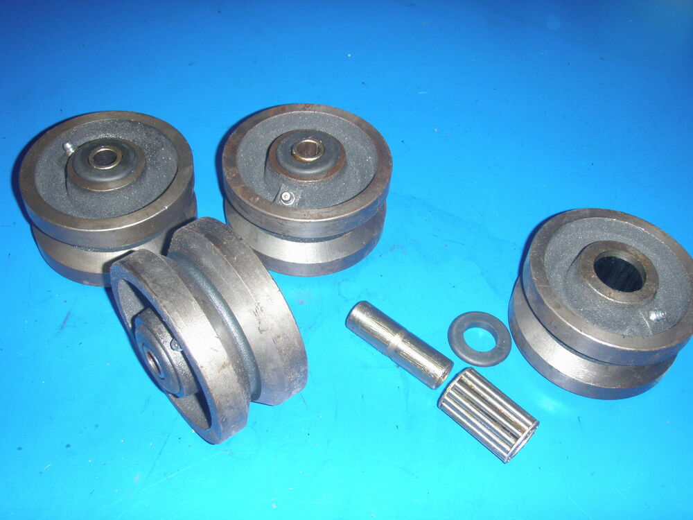 Bandsaw Casters V Groove Wheels 2 Quot Wide Heavy Duty Rail