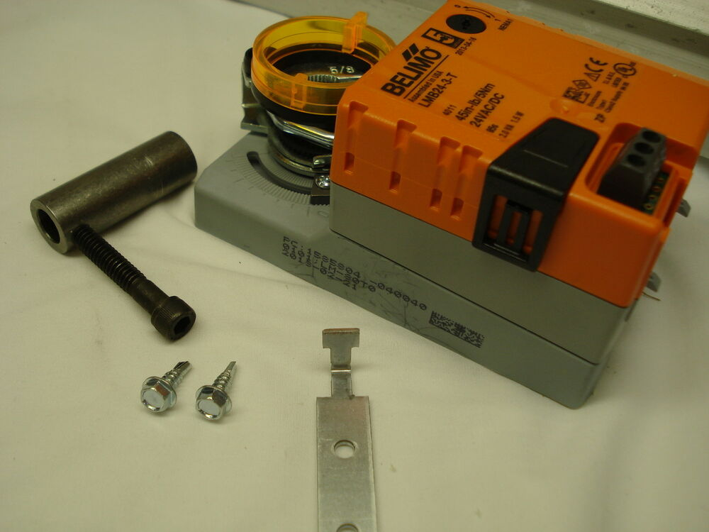 Belimo to honeywell and other retrofit damper motor kit zd for Honeywell damper control motor