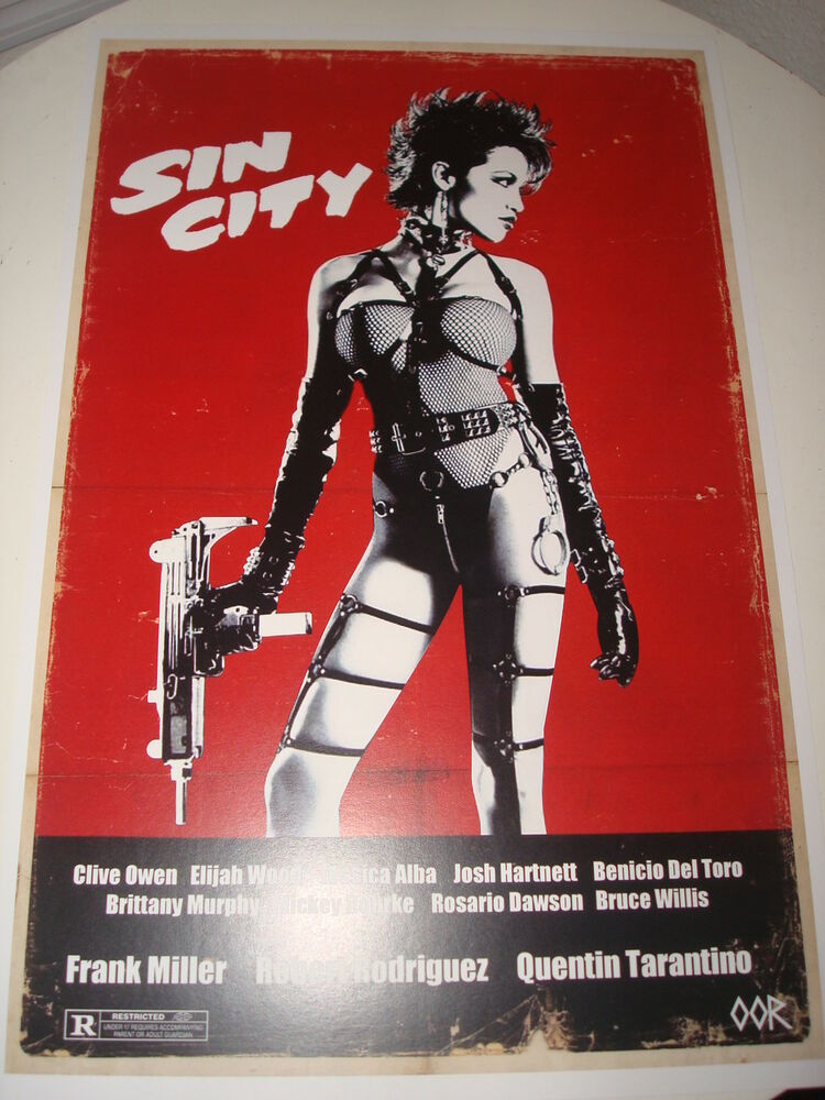 Sin City movie poster print | eBay