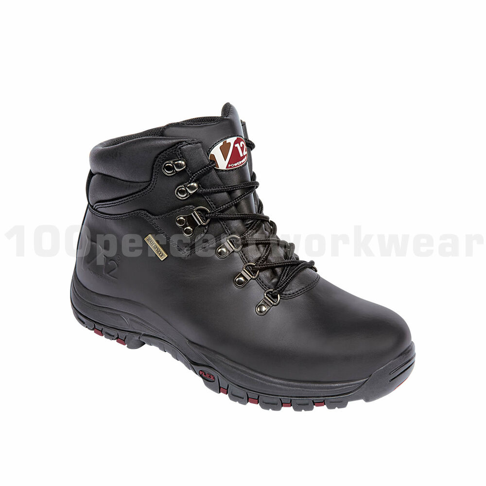 V12 Safety V1215 Thunder Waterproof Mens Work Boots Hiking