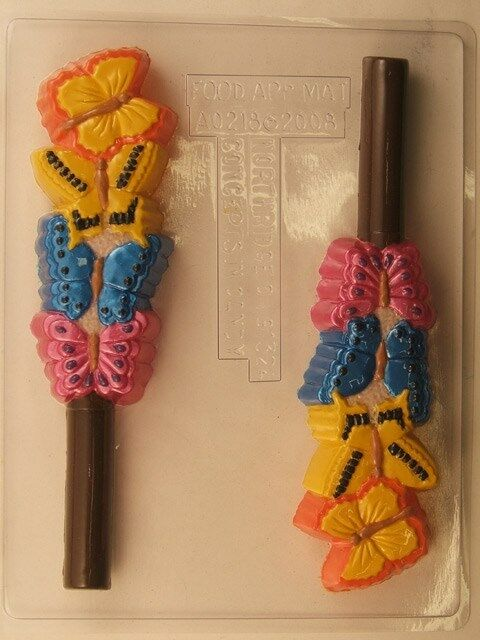Butterfly pretzel rod chocolate candy mold molds garden - What to do about mold ...