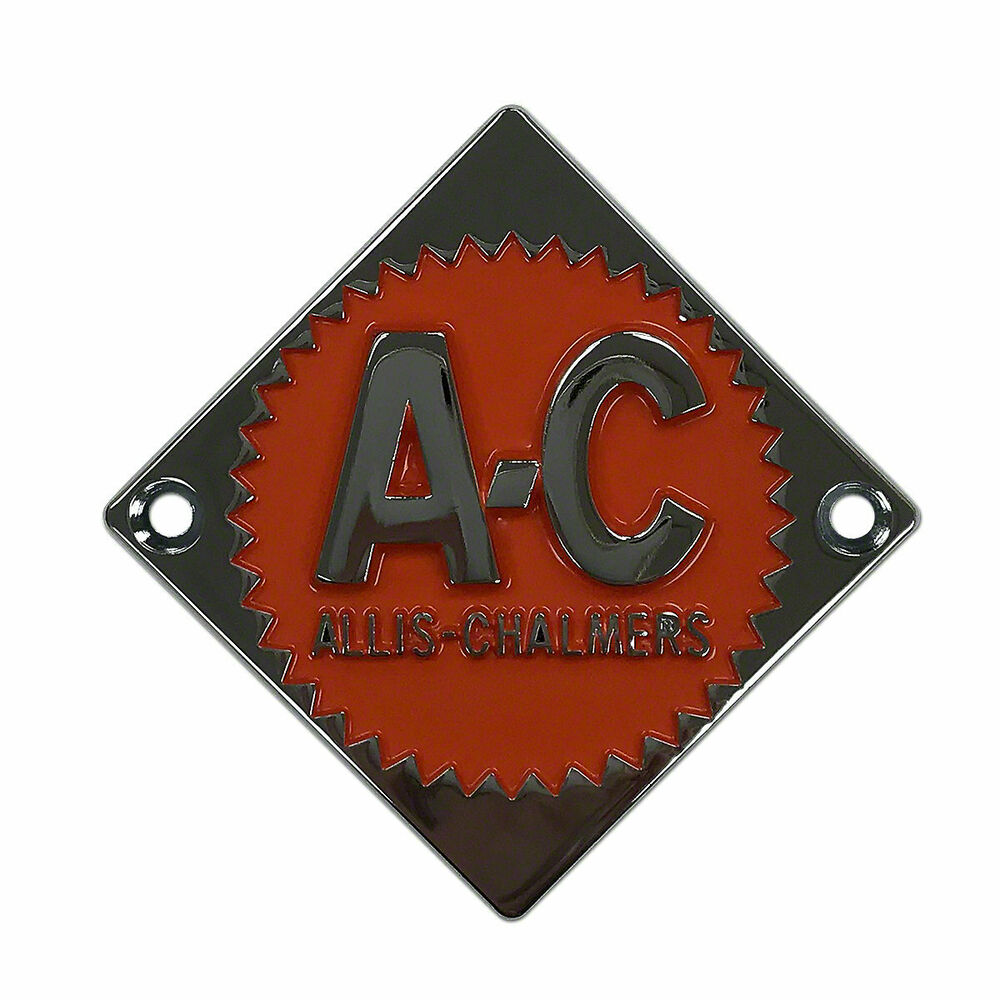 Persian Orange #1 Emblem | Allis Chalmers Steering Wheel ...