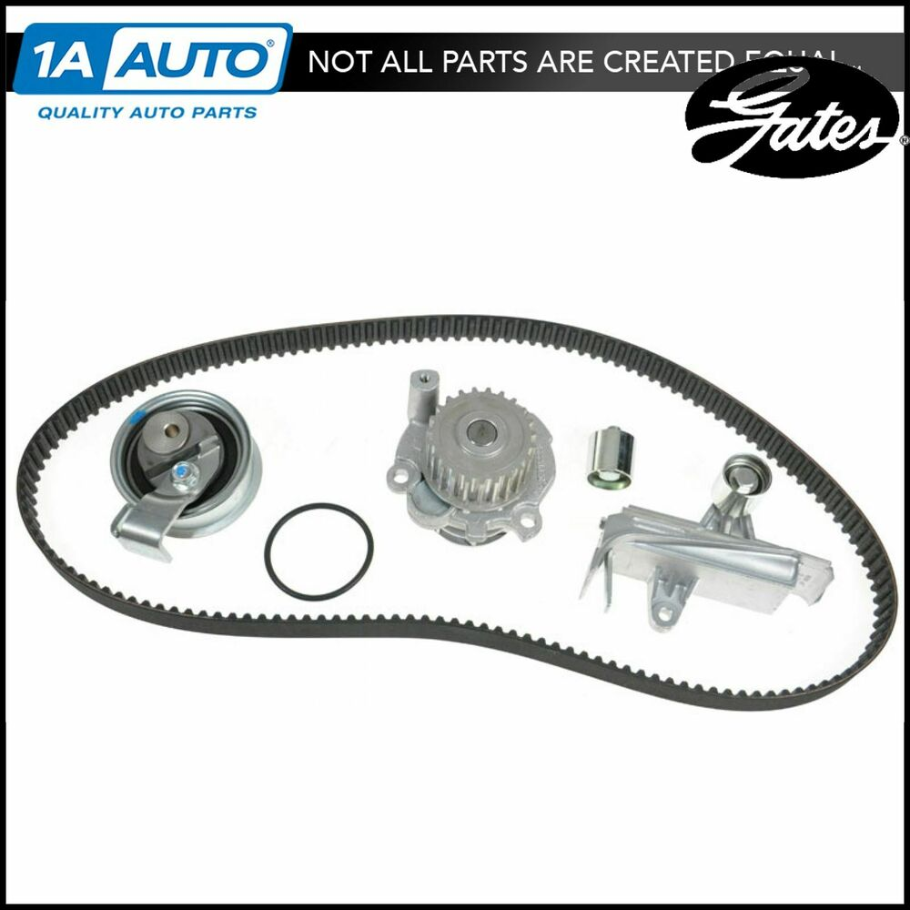 Audi Timing Belt : Gates tckwp am timing belt water pump kit set for audi
