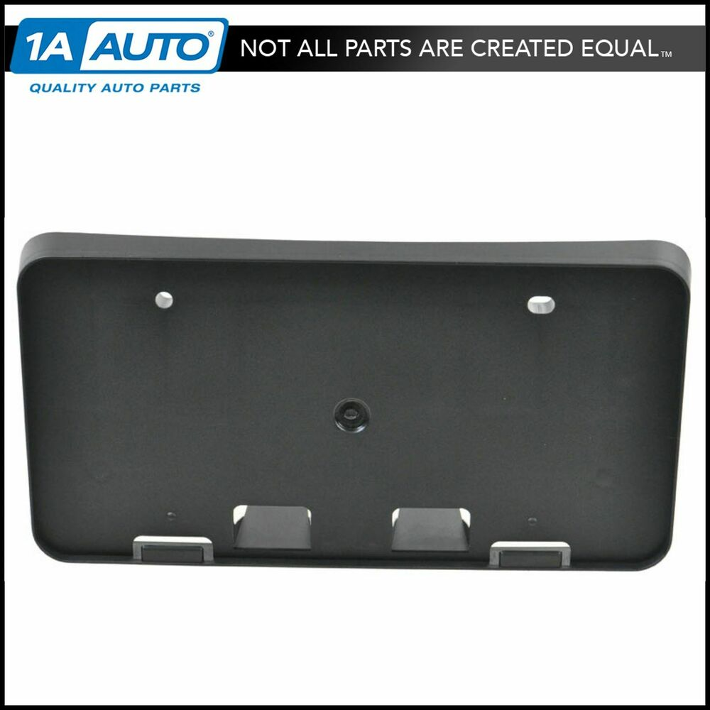 Front Bumper License Plate Backing Bracket New For Toyota