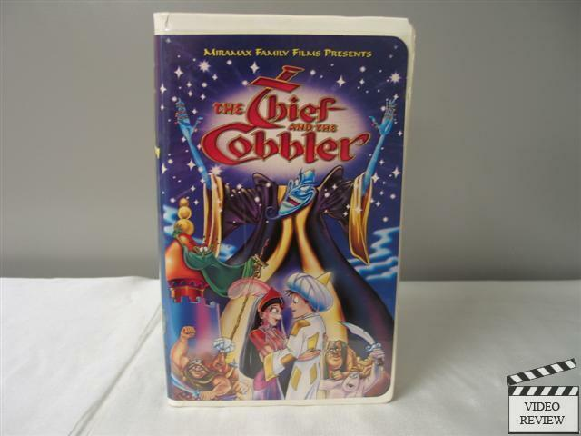 Sell Vhs Tapes >> The Thief and the Cobbler VHS (Clamshell) with Vincent ...