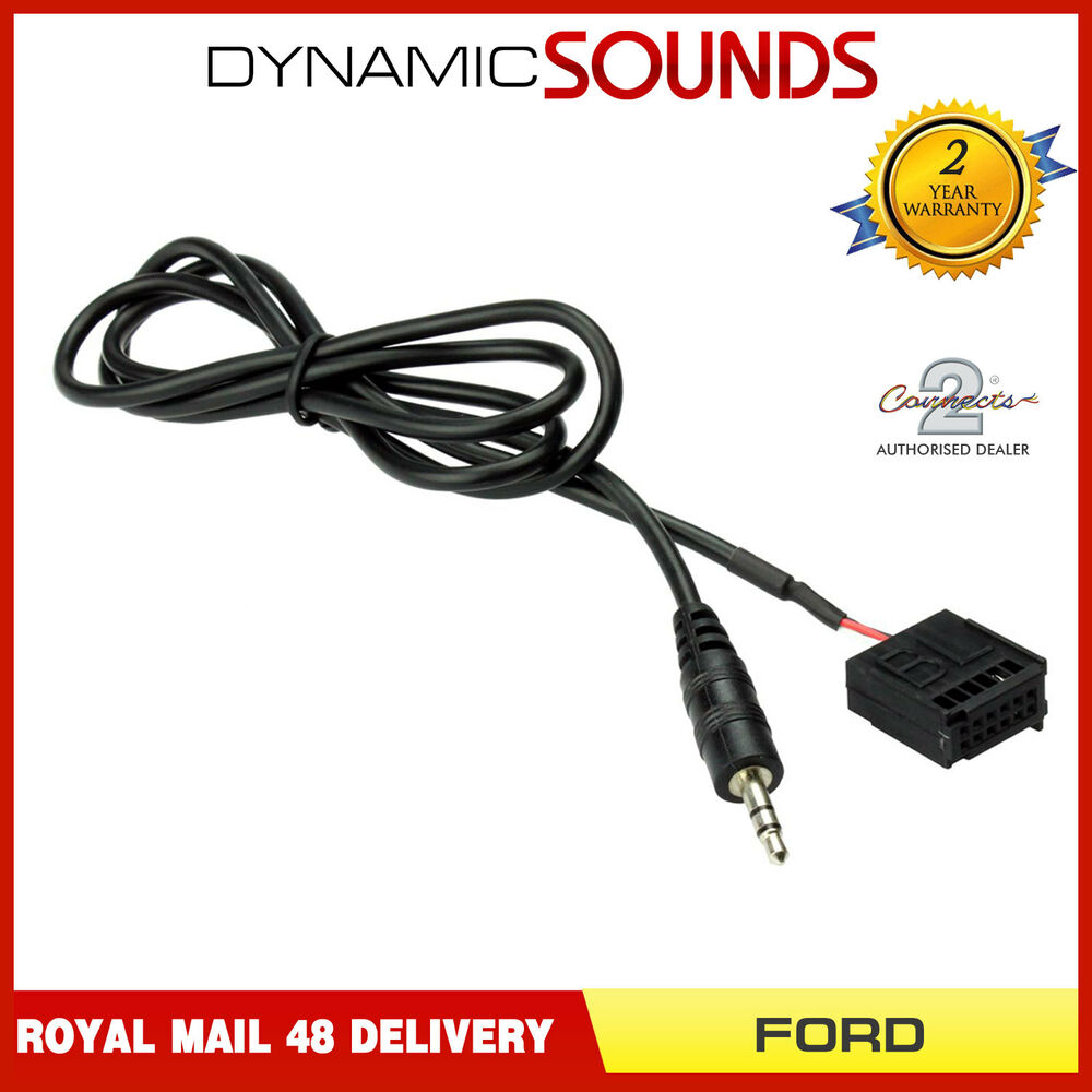 ford focus mk2 c max s max 6000 cd aux in cable for mp3. Black Bedroom Furniture Sets. Home Design Ideas