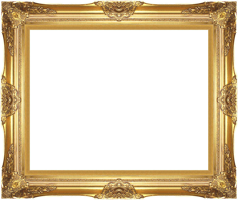 museum quality majestic gold wood picture frame readymade
